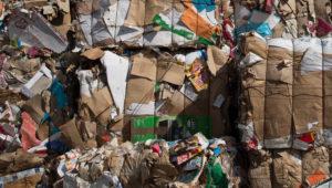 gestion déchets carton