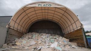 déchets platre et placo