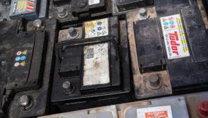 déchet batterie voiture